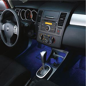 Tecled Tape Lights Under Car Dash Board